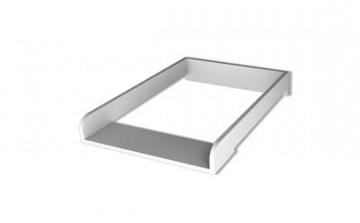 Structure pour table à langer pour des commodes.