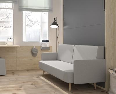 Ausziehbares Bett Couch
